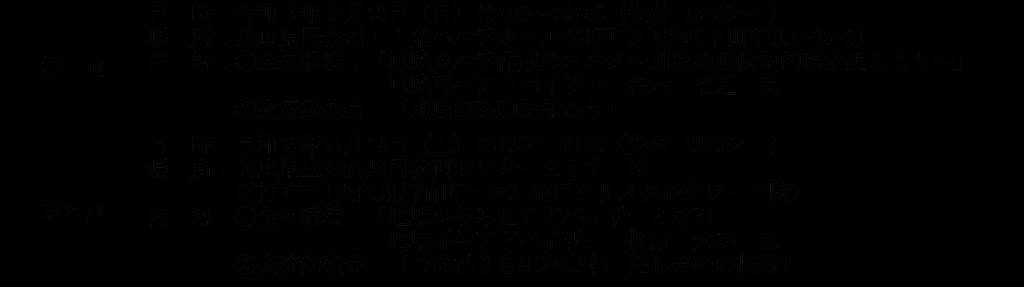【終了しました】第2回 ひょうご地域再生塾 @ 兵庫県立男女共同参画センターセミナー室