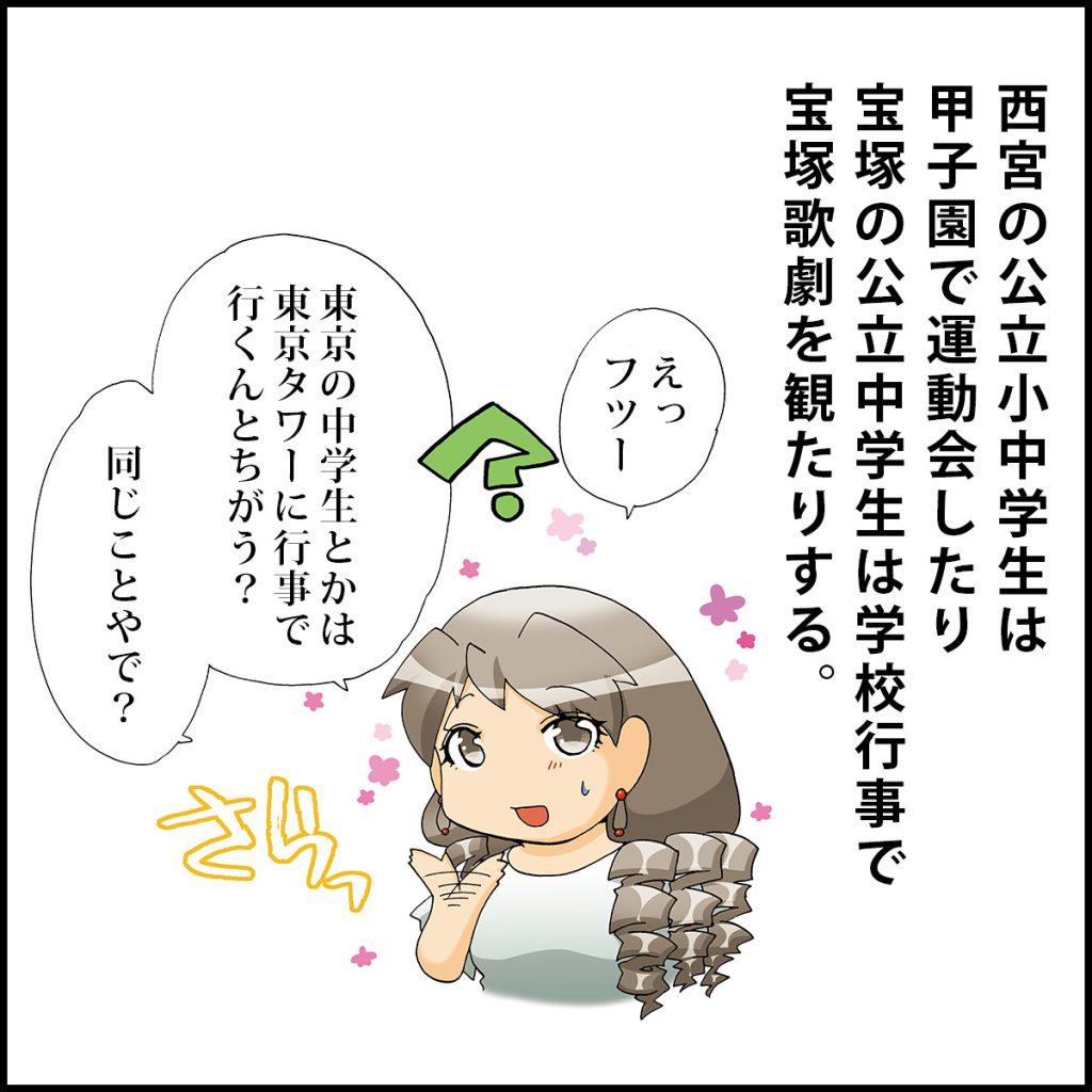 神戸・阪神の一コマ漫画