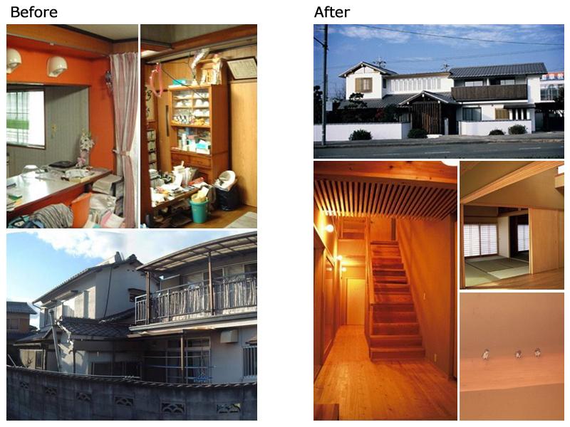 写真:才本さん宅Before-After_事例5