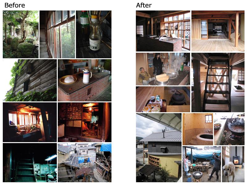 写真:才本さん宅Before-After