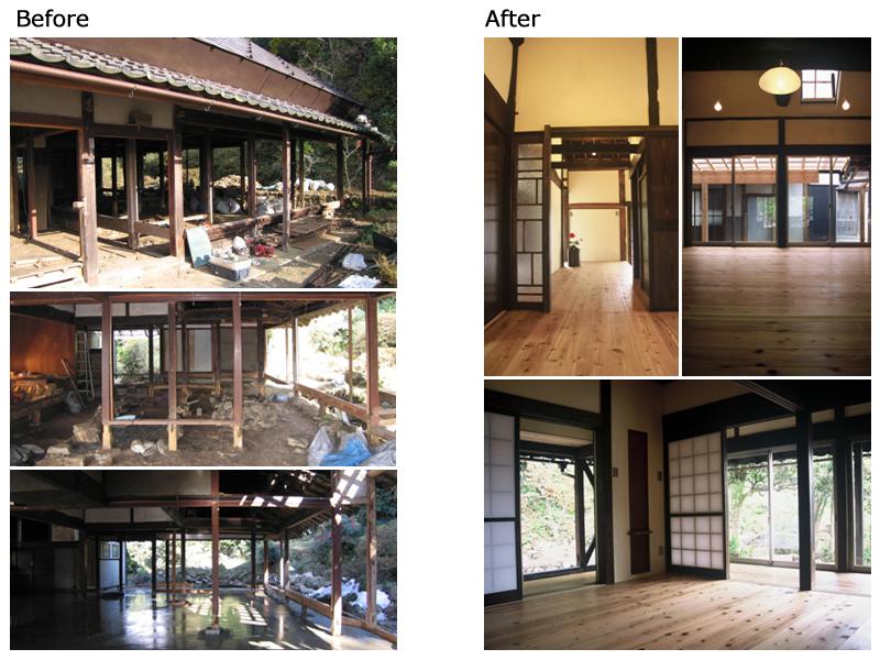 写真:才本さん宅Before-After_事例3